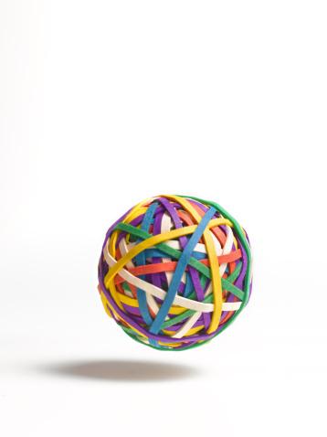 Sphere「Bouncing ball of elastic bands」:スマホ壁紙(16)