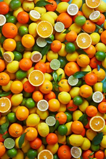 Orange - Fruit「citrus fruit overhead」:スマホ壁紙(10)