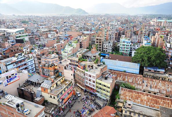 High Angle View「View over Kathmandu, Nepal」:写真・画像(12)[壁紙.com]
