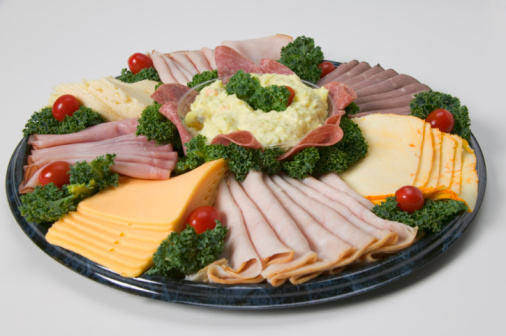 Red Meat「Deli tray with meats and cheeses」:スマホ壁紙(1)