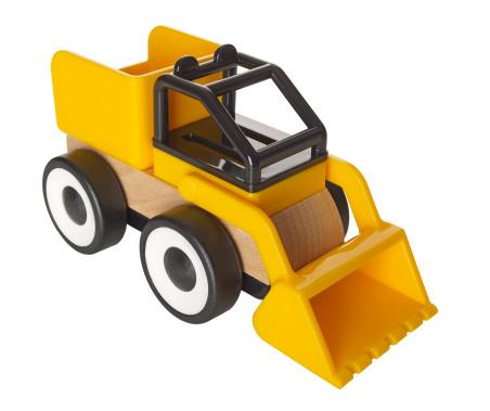 おもちゃのトラック「Toy front-end loader」:スマホ壁紙(12)