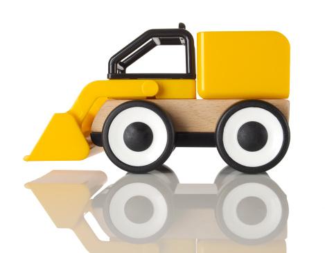 おもちゃのトラック「Toy front-end loader」:スマホ壁紙(14)