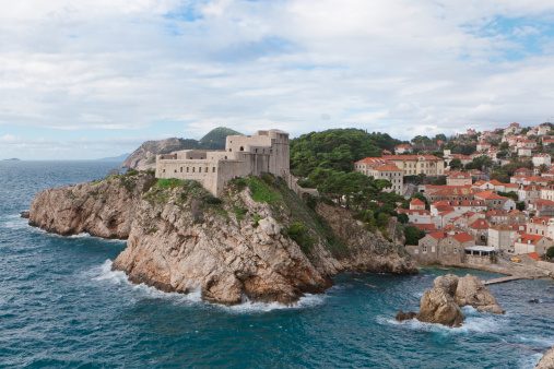 Rebellion「Lovrijenac Fortress, Dubrovnik, Dalmatia, Croatia」:スマホ壁紙(9)