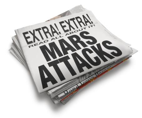 Eccentric「Mars Attacks」:スマホ壁紙(18)
