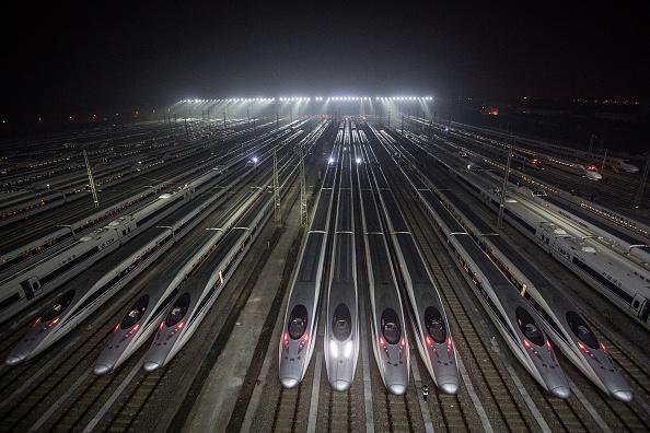 Industry「Asian Largest High-Speed Train Maintenance Base Ready For  Spring Festival」:写真・画像(15)[壁紙.com]