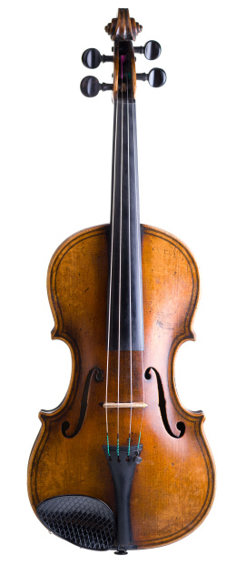 Violin「Old violin isolated on white」:スマホ壁紙(7)