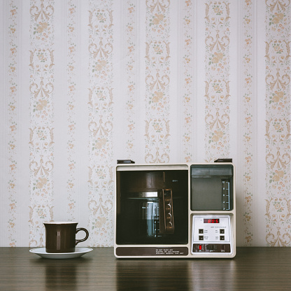 Home Automation「Coffee Maker in Retro Style」:スマホ壁紙(0)