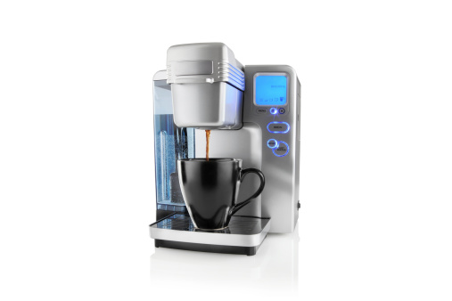 Black Coffee「Coffee Maker with Clipping Path」:スマホ壁紙(16)