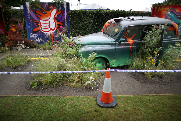 Overgrown「Preparations Are Made For The Hampton Court Palace Flower Show」:写真・画像(13)[壁紙.com]