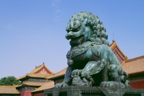 UNESCO「Bronze statue of a lion in the Forbidden City, Beijing, China」:スマホ壁紙(12)