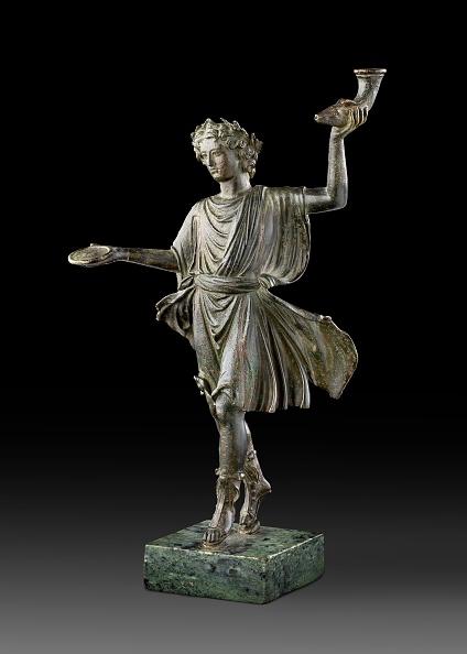 Male Likeness「Bronze Statuette Of A Lar (Household God)」:写真・画像(2)[壁紙.com]