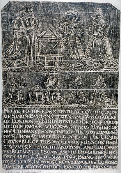 クレヨン「Brass rubbing from the Church of St Andrew Undershaft, Leadenhall Street, London, c1820. Artist: Anon」:写真・画像(2)[壁紙.com]