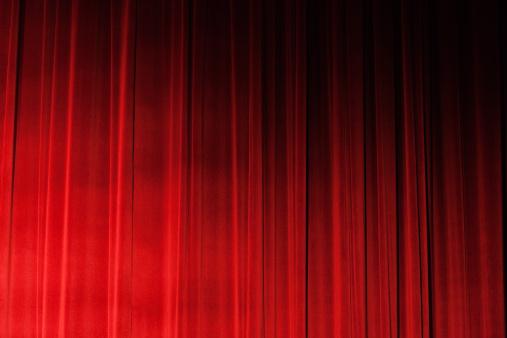 Waiting「Sidelit closed ruched red velvet theatre drapes」:スマホ壁紙(19)