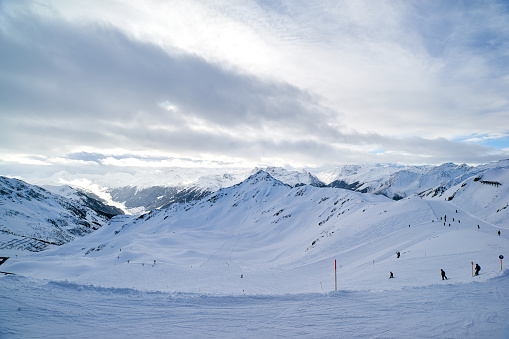 スキー「Silvretta モンタフォンでゲレンデ」:スマホ壁紙(14)