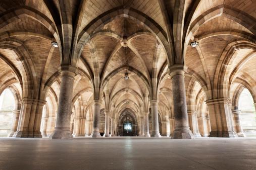 Gothic Style「Glasgow University Cloisters」:スマホ壁紙(5)