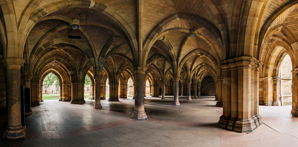 19th Century「Glasgow University Cloister columns」:スマホ壁紙(15)