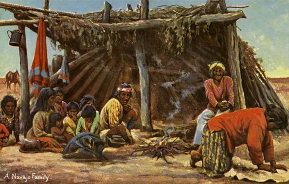 Navajo Culture「A Navajo Family」:写真・画像(8)[壁紙.com]