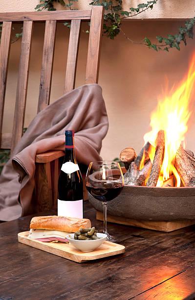 Wine with fire:スマホ壁紙(壁紙.com)
