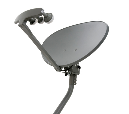 Antenna - Aerial「Elliptical Satellite Dish with Mast」:スマホ壁紙(8)
