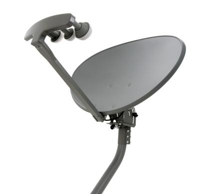 Antenna - Aerial「Elliptical Satellite Dish with Mast」:スマホ壁紙(7)
