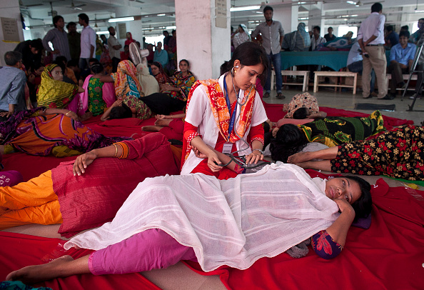 Garment「Garment Workers Go On Hunger Strike Over Unpaid Wages」:写真・画像(1)[壁紙.com]
