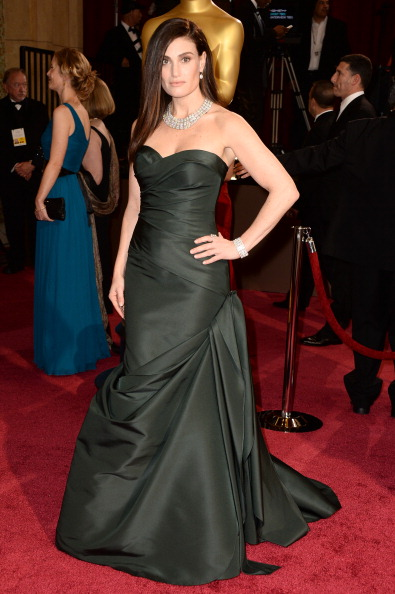 Strapless Evening Gown「86th Annual Academy Awards - Arrivals」:写真・画像(8)[壁紙.com]