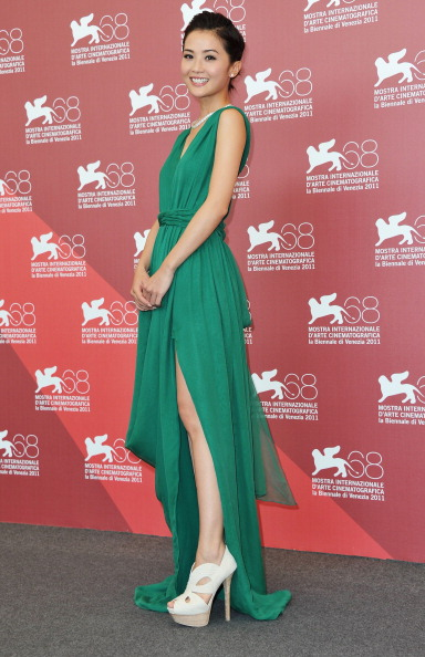 "Slit - Clothing「""The Sorcerer And The White Snake"" Photocall - 68th Venice Film Festival」:写真・画像(11)[壁紙.com]"