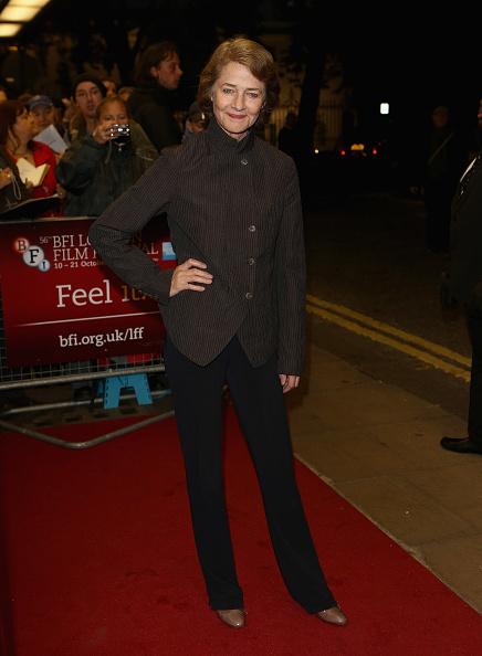 Straight leg pants「56th BFI London Film Festival: I, Anna」:写真・画像(13)[壁紙.com]