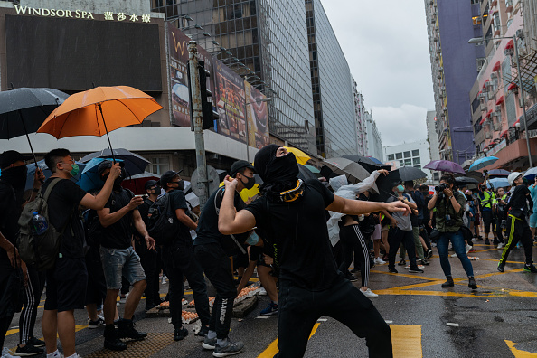 Umbrella「Unrest In Hong Kong During Anti-Government Protests」:写真・画像(17)[壁紙.com]