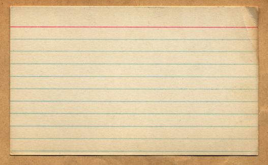 Photography Themes「Vintage Retro Index Card Design Element」:スマホ壁紙(15)