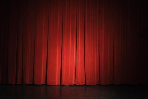 Waiting「Curtain on stage」:スマホ壁紙(11)