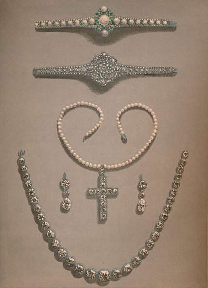 Necklace「Necklace Earrings Bracelets Wedding Gifts Presented To Alexandra Of Denmark 1863」:写真・画像(15)[壁紙.com]
