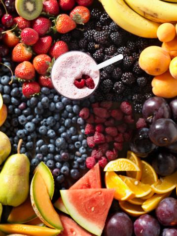 スイカ「フルーツのスムージー、食材」:スマホ壁紙(5)