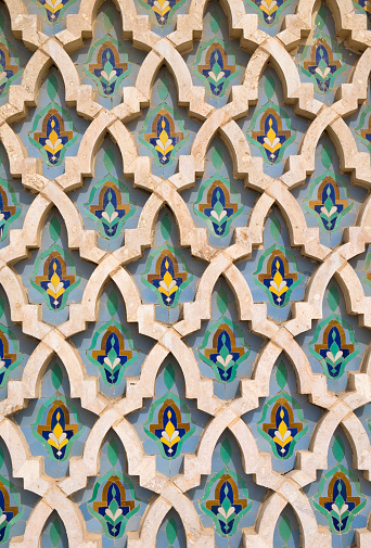 Moorish「Mosaics at Hassan II Mosque」:スマホ壁紙(17)