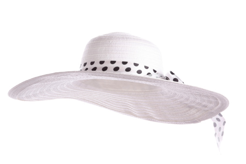 帽子「ホワイトサンハット」:スマホ壁紙(15)