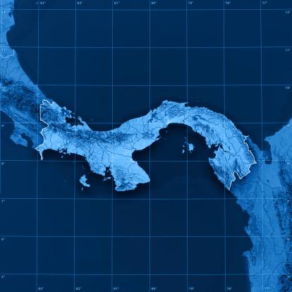 Latitude「Panama Topographic Map」:スマホ壁紙(10)