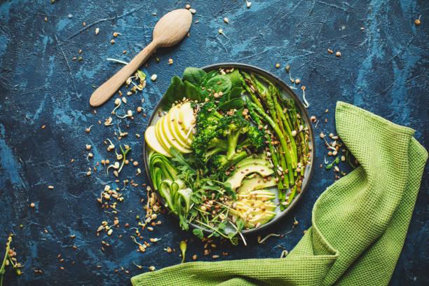 Healthy vegan lunch:スマホ壁紙(壁紙.com)