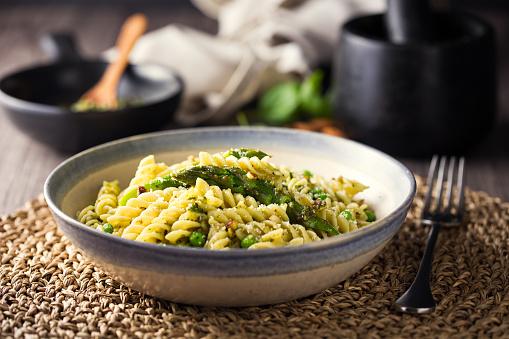 Asparagus「Healthy Vegan pasta bowl」:スマホ壁紙(18)