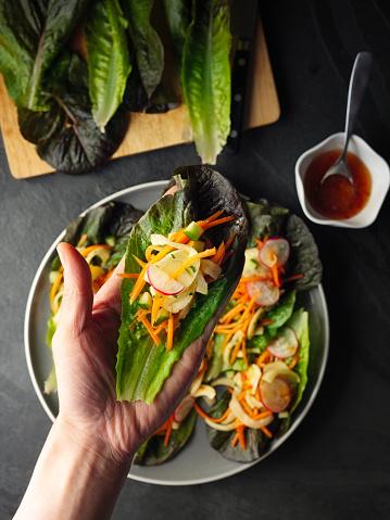 Hand「Healthy Vegan wraps」:スマホ壁紙(12)