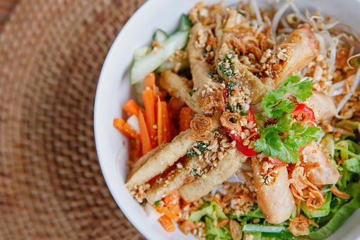 Rice Noodles「Healthy vegan Vietnamese noodle bowl」:スマホ壁紙(18)
