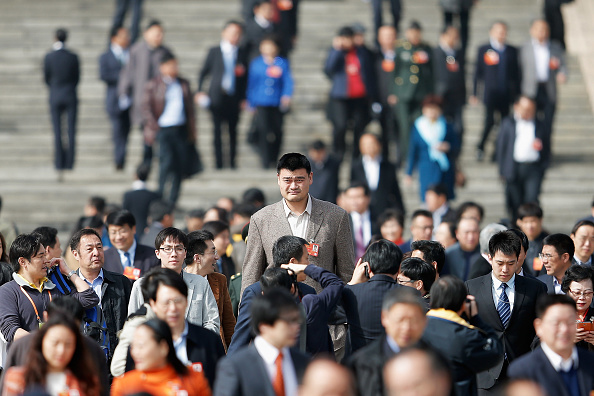 Yao Ming「The Second Plenary Session Of The National People's Congress」:写真・画像(4)[壁紙.com]
