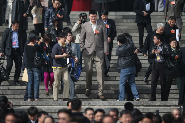 Yao Ming「The Second Plenary Session Of The National People's Congress」:写真・画像(12)[壁紙.com]