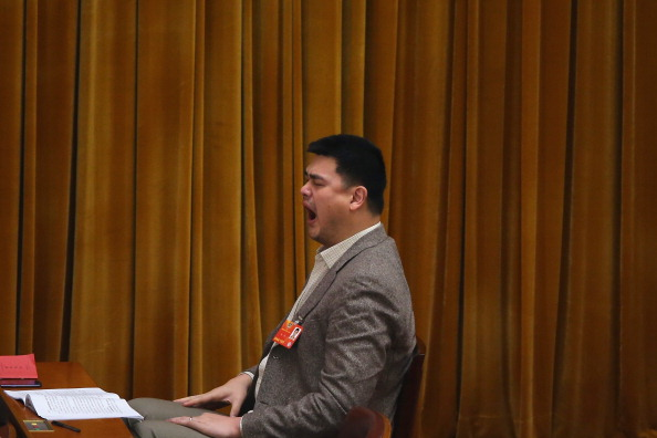 Yawning「The Second Plenary Session Of The National People's Congress」:写真・画像(15)[壁紙.com]