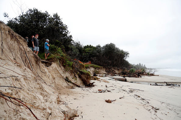 Weather「Byron Bay Beach Erodes With Severe Weather Still Forecast」:写真・画像(12)[壁紙.com]