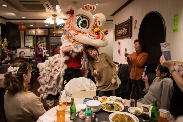 Yokohama「Yokohama China Town Celebrates Lunar New Year」:写真・画像(1)[壁紙.com]