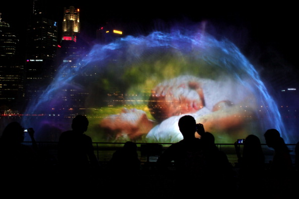 Lighting Equipment「Marina Bay Sands Celebrates Grand Opening」:写真・画像(6)[壁紙.com]