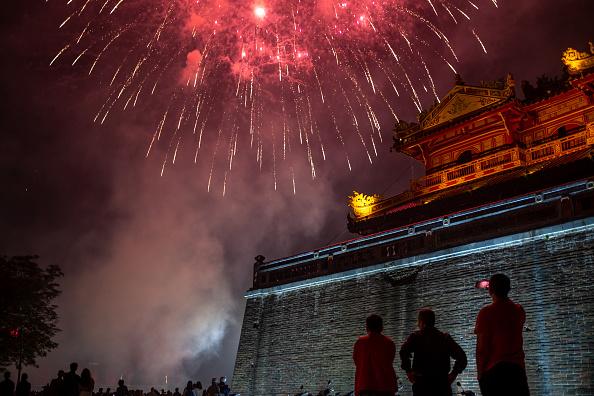 お祭り「Vietnamese Mark The Lunar New Year In Hue」:写真・画像(0)[壁紙.com]