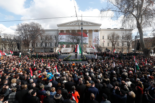 Laszlo Balogh「Hungarian PM Orban Makes National Day Address」:写真・画像(3)[壁紙.com]