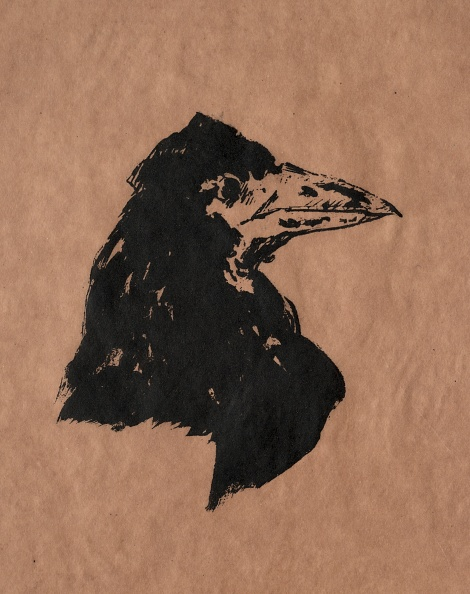 Lithograph「Raven Head. Creator: Edouard Manet (French」:写真・画像(12)[壁紙.com]