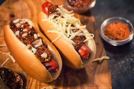 Hot Dog「Freshly Grilled Chili Hot Dog」:スマホ壁紙(2)
